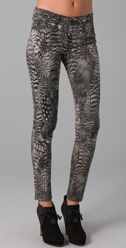 Rag & Bone/jean Printed Legging Jeans