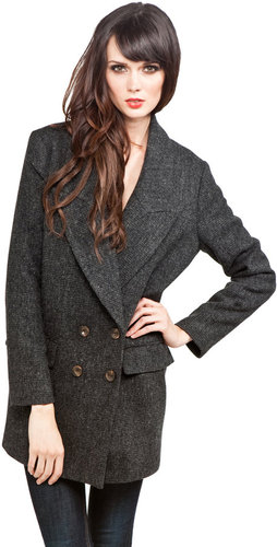 Rachel Comey Cabot Coat in Charcoal