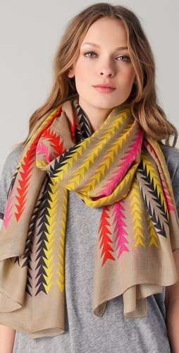 Marc By Marc Jacobs Arrowhead Scarf