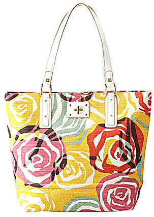 Sarah Violet Bright Multi Seagrove North-South Tote