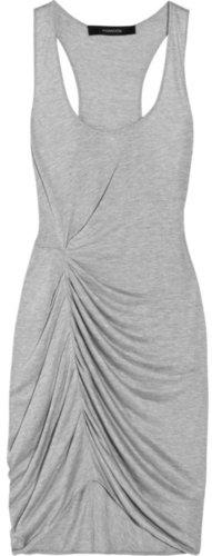 Thakoon Addition Asymmetric jersey tank dress