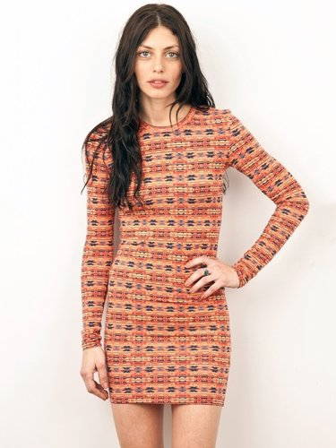 Torn by Ronny Kobo Zoe Long Sleeve Dress