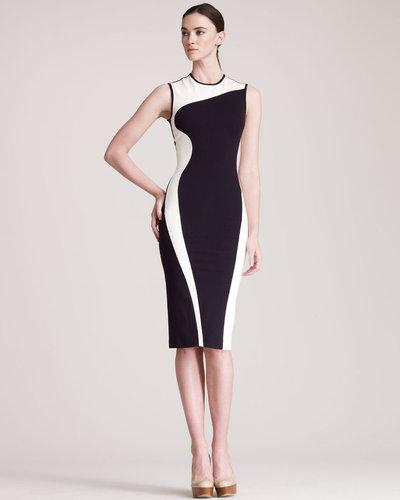 Stella McCartney Contour-Colorblock Sheath Dress