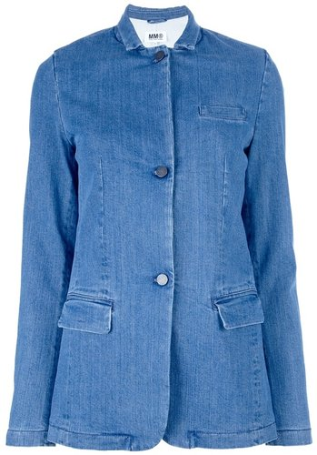 Mm6 By Maison Martin Margiela DENIM BLAZER