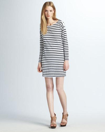 Splendid Striped Knit Dress