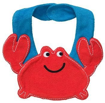 Little Crab Teething Bib