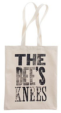 Alphabet bagsTM bee's knees tote