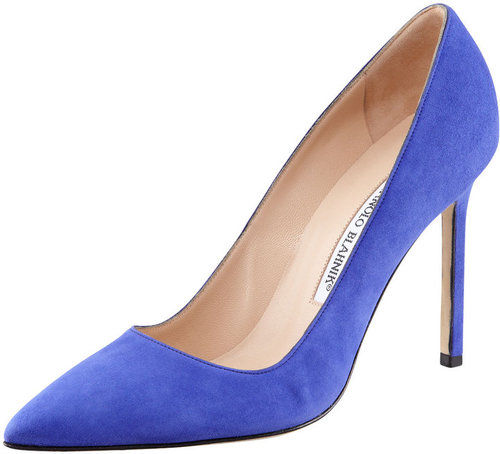 Manolo Blahnik BB Suede Pump