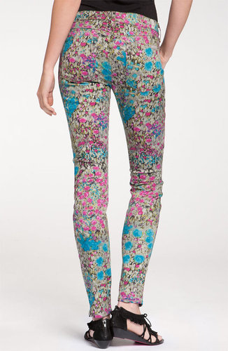 7 For All Mankind® 'The Skinny' Print Jeans (Garden Party Floral)