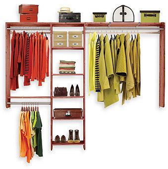 Aromatic Cedar Closet Kit