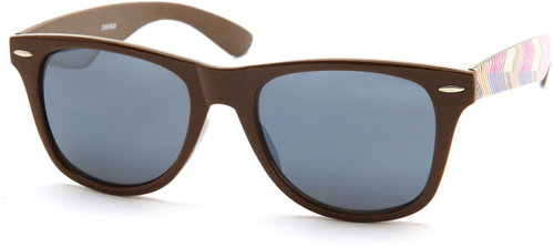 Chevron-Side Sunglasses