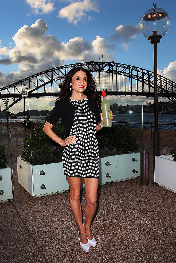 Bethenny Frankel — reality TV star and founder of SkinnyGirl Cocktails — hit Circular Quay in Sydney to promote the drinks range on February 20.