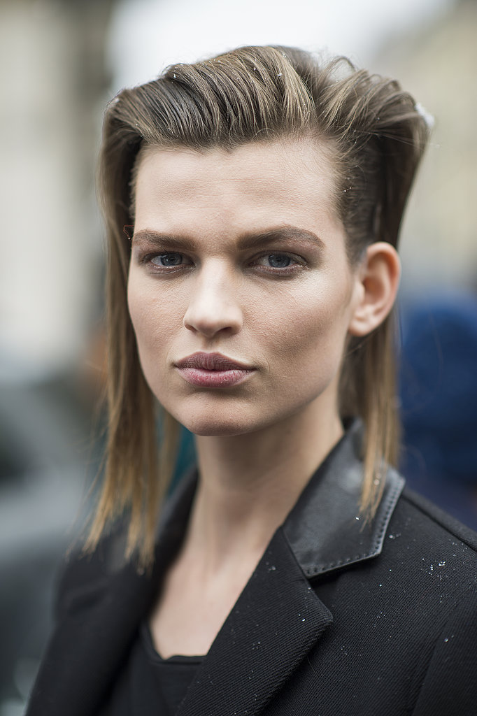 Grungy hair and muted lips worked in the best way for Bette Franke. Source: Le 21ème | Adam Katz Sinding