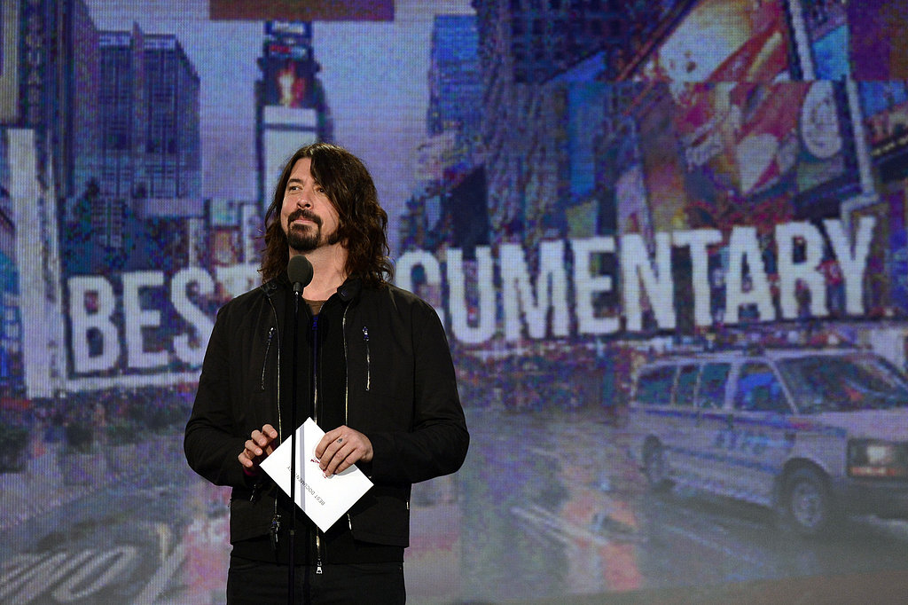 Dave Grohl presented at the Spirit Awards.