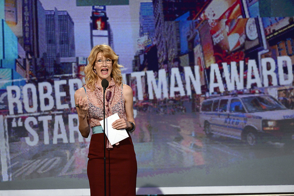 Laura Dern presented at the 2013 Spirit Awards.