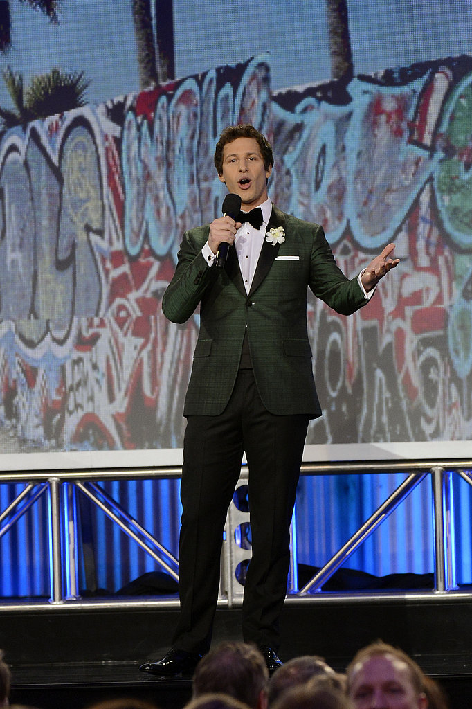 Andy Samberg hosted the 2013 Film Independent Spirit Awards
