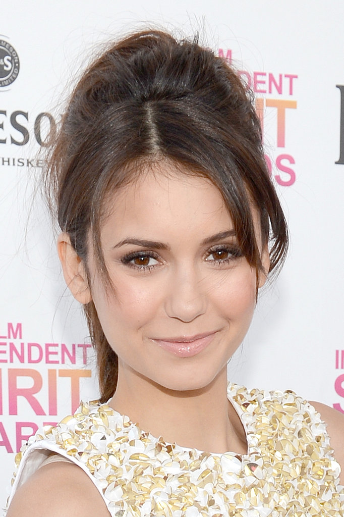 Nina Dobrev Celebrates an Early Win at the Spirit Awards
