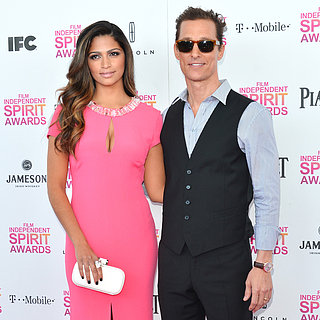 Matthew McConaughey and Camila Alves at 2013 Spirit Awards