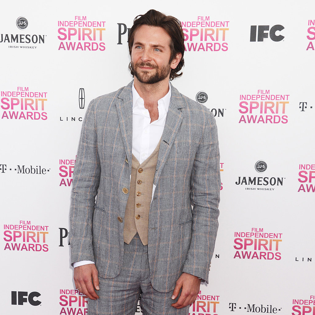 Bradley Cooper Catches Up With Friends at the Spirit Awards