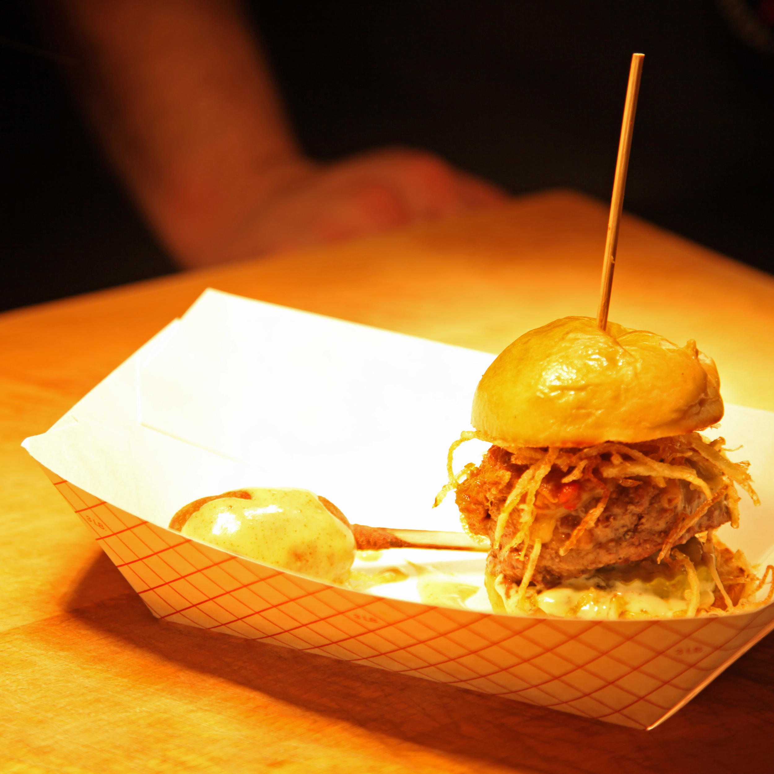 Rok:Brgr Burger Bar + Gastropub's Burger