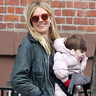 Sienna Miller Shopping With Marlowe and Robin Wright in NYC