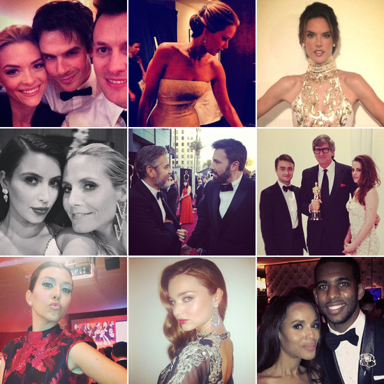 Celebrities Share Social Snaps From Oscar Weekend