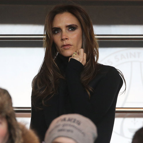 Victoria Beckham at David Beckham's Soccer Game in Paris