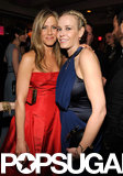 Jennifer Aniston and Chelsea Handler hung out at Vanity Fair's party.