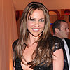 Britney Spears With Brown Hair at Elton John&#039;s Oscars Party