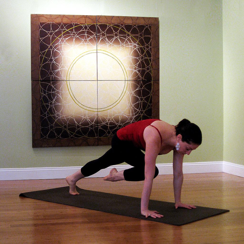 Knee-Up Plank