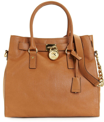 MICHAEL Michael Kors Handbag, Hamilton Tote with Gold Hardware