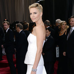 Charlize Theron Pictures in Dior at 2013 Oscars