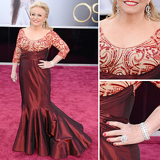 2013 Oscar Awards Style & Fashion Poll: Jacki Weaver