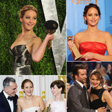 Jennifer Lawrence's Best 2013 Award-Season Snaps