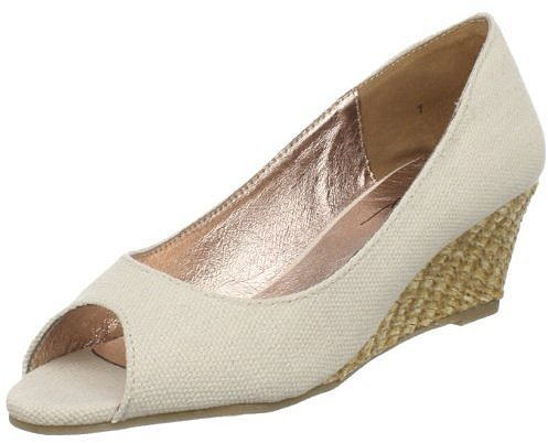 Very Volatile Women's Pina Colada Open-Toe Wedge
