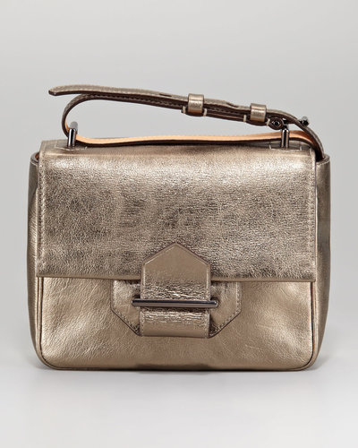 Reed Krakoff Standard Mini Shoulder Bag, Metallic Leather