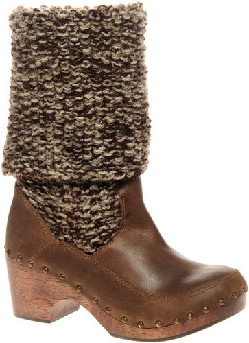 Park Lane Knitted Clog Boot