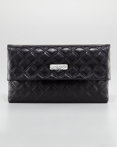 Marc Jacobs Eugenie Quilted Oversize Wallet, Large