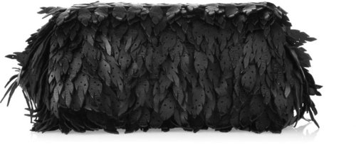 Bottega Veneta Leather leaf clutch