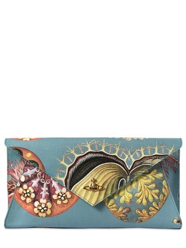 Vivienne Westwood - Paradise Print Leather Clutch