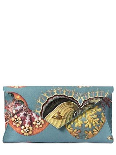 Vivienne Westwood - Paradise Print Leather Clutch