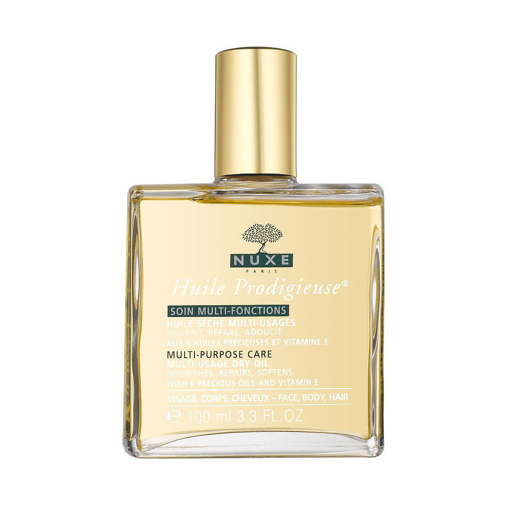 Before oils blew up stateside, Nuxe had the market on a full-body version in France. The brand's Nuxe Huile Prodigieuse ($45) is suitable for hair, face, and body and has a delightfully subtle scent.