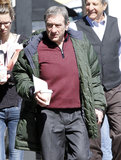 Robert De Niro headed out after a day of filming Grudge Match in New Orleans on Wednesday.