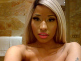Nicki Minaj shared a photo of herself while in Las Vegas for American Idol. Source: Twitter user NICKIMINAJ