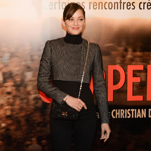 Marion Cotillard at the Jappeloup Premiere in Paris