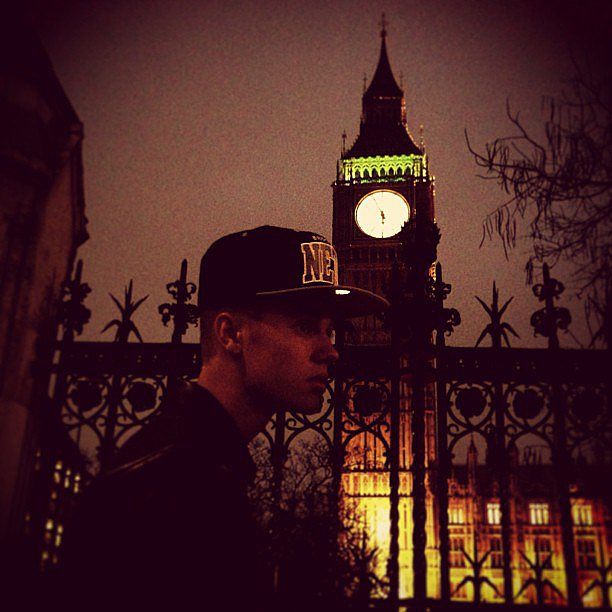 Justin Bieber posed in front of Big Ben during a stay in London. Source: Instagram user justinbieber