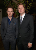 Eddie Redmayne got together with director Tom Hooper for the Vanity Fair pre-Oscar bash in LA.