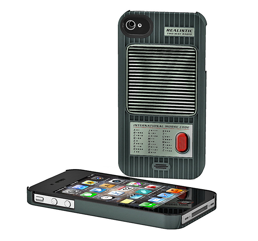 We have to warn that you might end up buying two Walkie Talkie iPhone Cases ($25) to communicate properly with your partner in crime. Roger that?