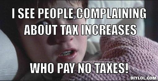 Haley Joel Osment lets us in on his sixth sense tax insights.  Source: DIYLOL