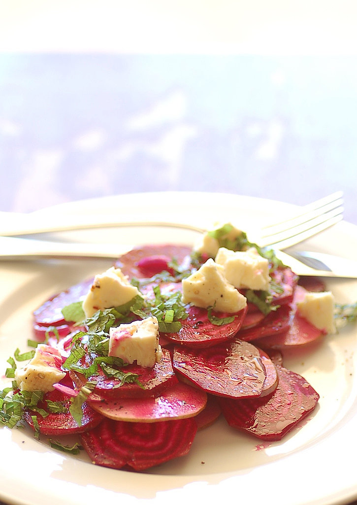 Shaved Beet and Pear Salad